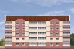 Пятиэтажный жилой дом г. Аша