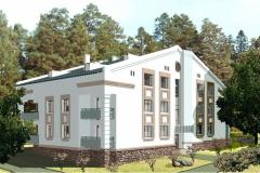 Многоквартирный жилой дом п. Озерный