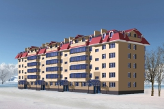 Пятиэтажный жилой дом г. Сургут