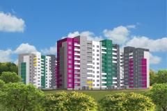 Многоэтажные жилые дома г. Златоуст
