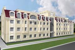 Реконструкция гостиницы г. Копейск