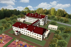 Реконструкция детского сада №7 г. Ханты-Мансийск