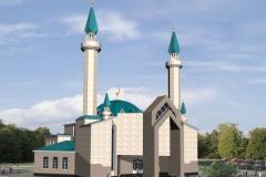 Комплекс соборной мечети на 350 человек  г. Златоуст